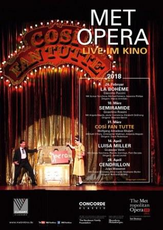 Met Opera 2017/18: Cosi Fan Tutte (Mozart)