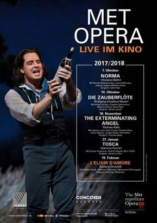 Met Opera 2017/18: L'Elisir D'Amore (Donizetti)