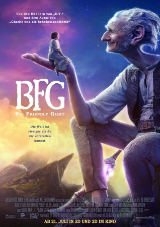 The Big Friendly Giant (THE BFG)
