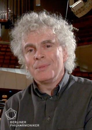 Berliner Philharmonie: Sir Simon Rattle und Magdalena Kožená