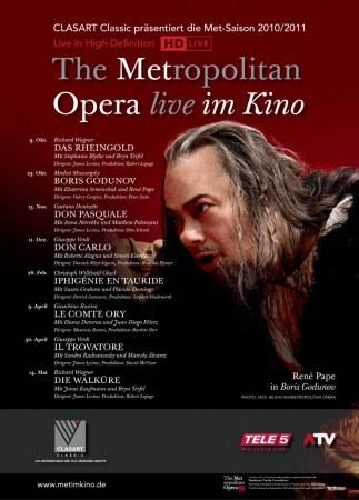 The Metropolitan Opera New York 2010/11 - Mussorgsky: Boris Godunov