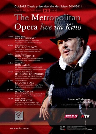 The Metropolitan Opera New York 2010/11 - Verdi: Don Carlo
