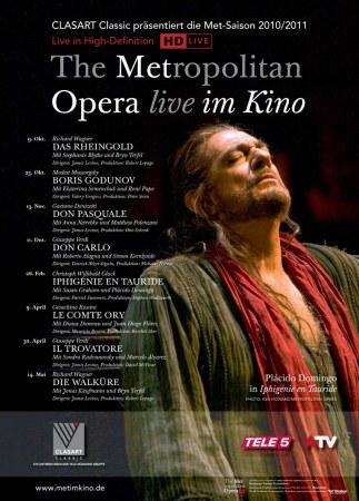 The Metropolitan Opera New York 2010/11 - Gluck: Iphigénie en Tauride