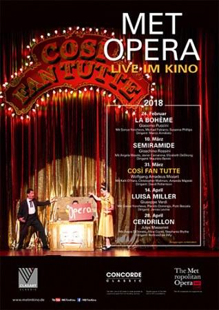 """Live aus New York – Mozart: """"Così fan tutte"""""""