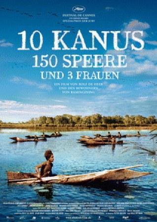 10 Kanus, 150 Speere und 3 Frauen