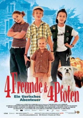 4 Freunde und 4 Pfoten - Ein tierisches Abenteuer