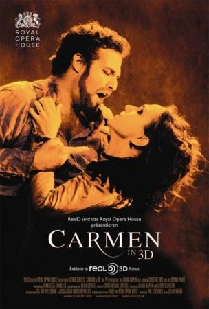 Georges Bizets Carmen in 3D