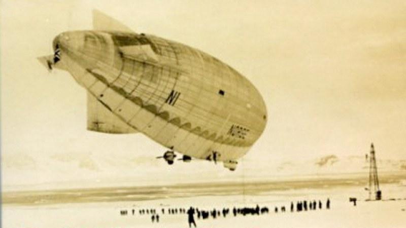 Mit Amundsen im Luftschiff zum Nordpol