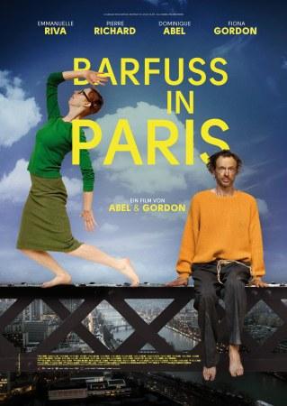 Paris barfuß