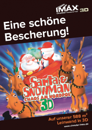 Santa & Snowman - Chaos am Nordpol IMAX 3D
