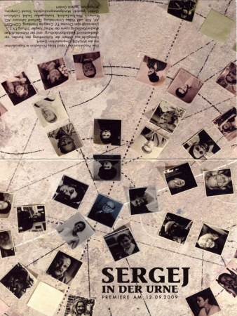 Sergej in der Urne