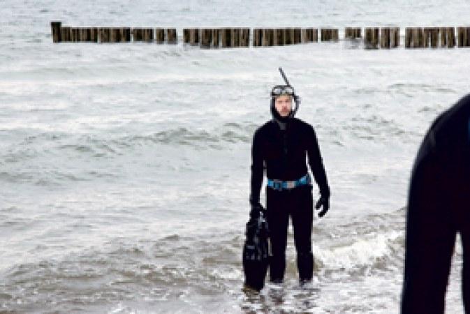 Über das Meer-DDR-Flucht