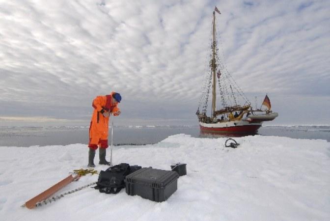 Verschollen vor Spitzbergen