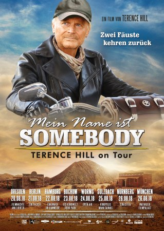 """Starbesuch: Terence Hill & """"Mein Name ist Somebody"""""""