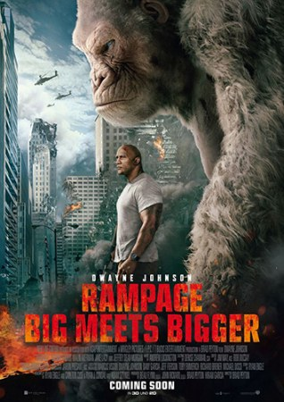 """Action Heroes Blockbuster Preview: """"Rampage"""""""