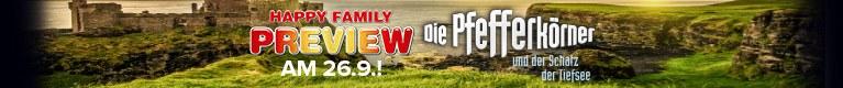 Happy Family-Preview: Die Pfefferkörner und der Schatz der Tiefsee