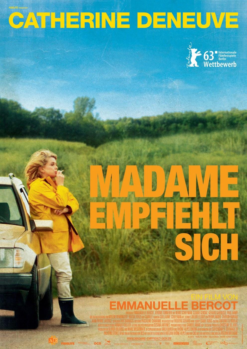 Madame empfiehlt sich   Cinestar
