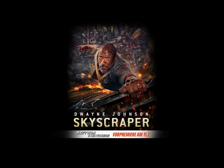 "Blockbuster Preview: ""Skyscraper 3D"""