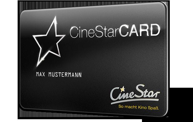 Die CineStarCard