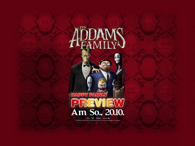 "Happy Family Preview: ""Die Addams Family"""