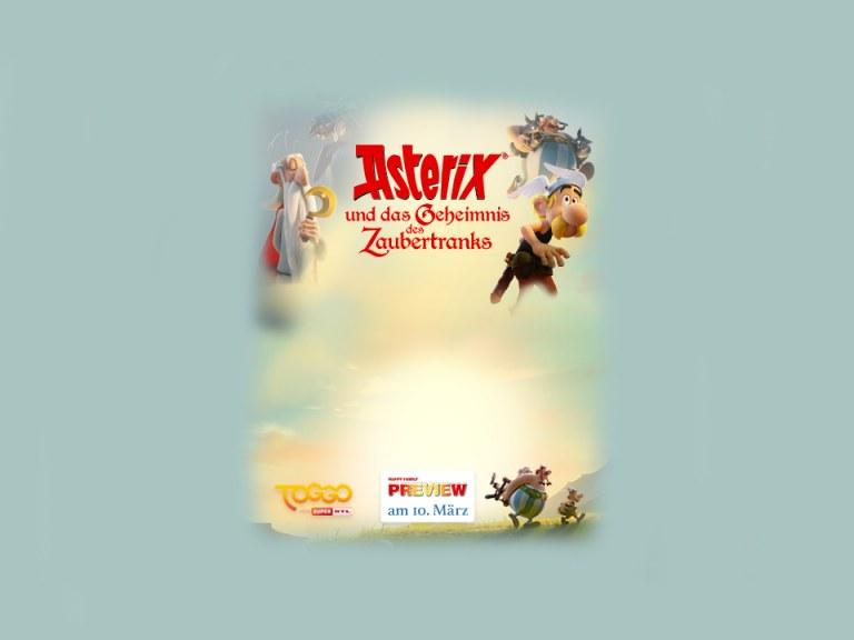 """Happy Family-Preview: """"Asterix und das Geheimnis des Zaubertranks"""""""