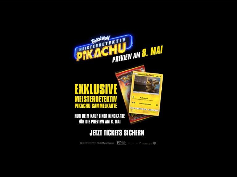 Preview: Pokémon Meisterdetektiv Pikachu