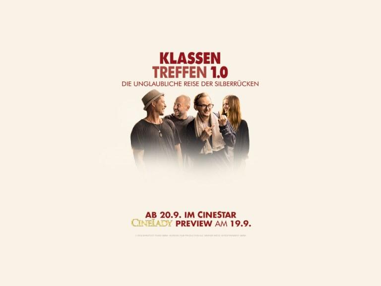 """CineLady Glam Preview: """"Klassentreffen 1.0 - Die unglaubliche Reise der Silberrücken"""""""