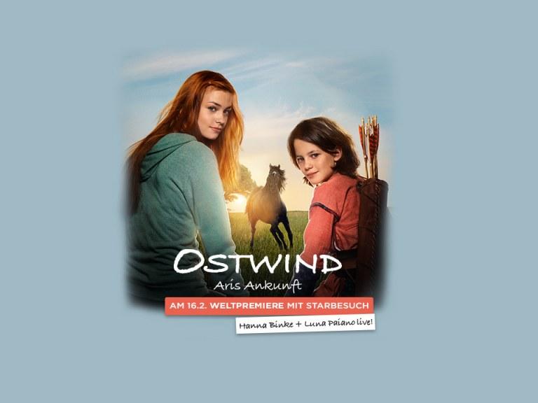 Weltpremiere: OSTWIND – ARIS ANKUNFT mit Hanna Binke, Luna Paiano & den Filmemachern