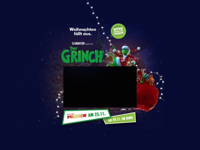 Happy Family Preview: Der Grinch 3D