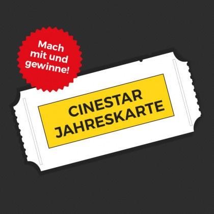 Ein Jahr gratis Kinospaß!