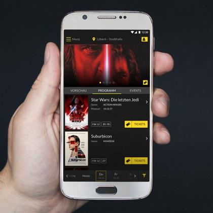 Die Cinestar-App