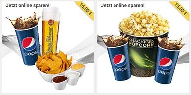 3. Snacks & Drinks zum Online-Sparpreis auswählen Bild 1