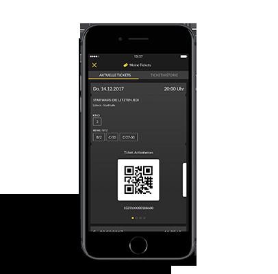 Online Ticketkauf über die App Bild 1