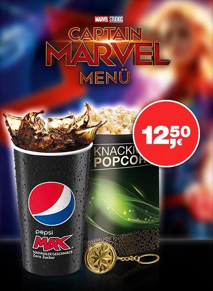 das Captain Marvel Filmmenü Bild 1