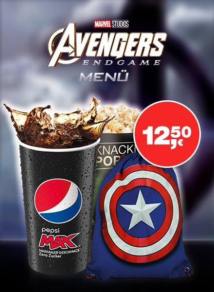 das Avengers Filmmenü Bild 1
