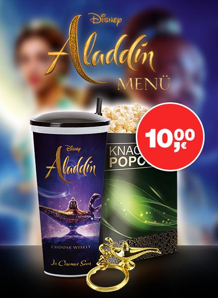 das Aladdin Filmmenü Bild 1