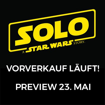 "Preview: ""Solo: A STAR WARS Story"""