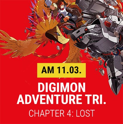 "Best of Anime: ""Digimon Adventures tri. – Chapter 4: Lost"""