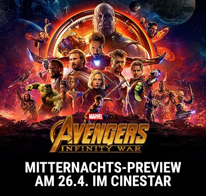 "Midnight Preview: ""Avengers: Infinity War"""