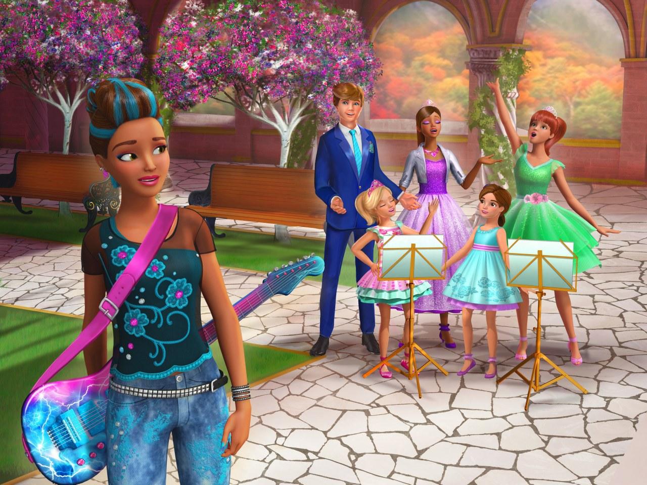 Barbie Eine Prinzessin Im Rockstar Camp Cinestar