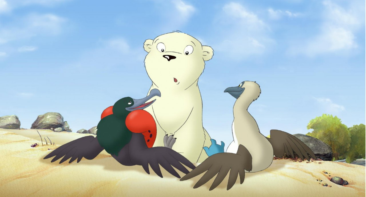 Der kleine Eisbär 2 - Die geheimnisvolle Insel - Bild 3