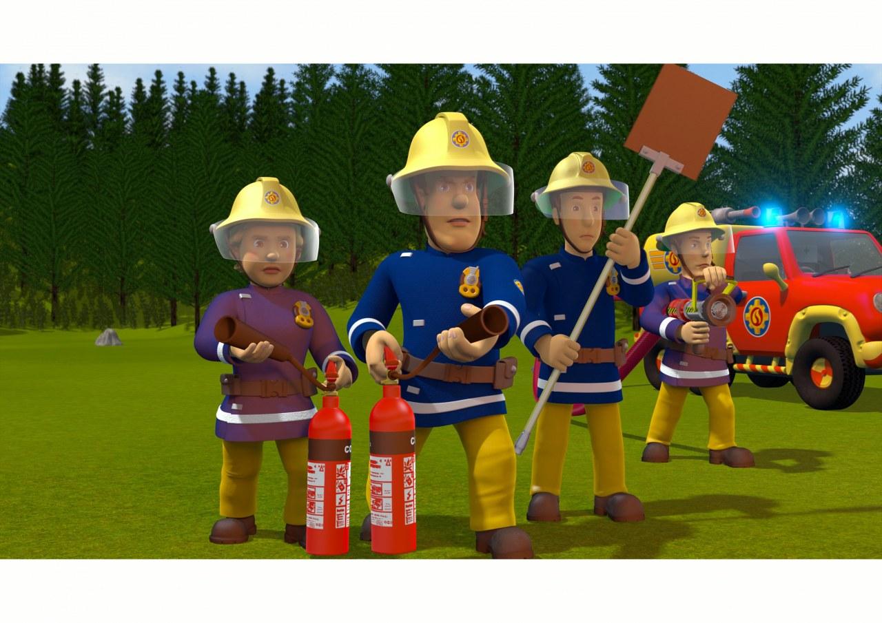 Feuerwehrmann Sam - Plötzlich Filmheld! - Bild 1