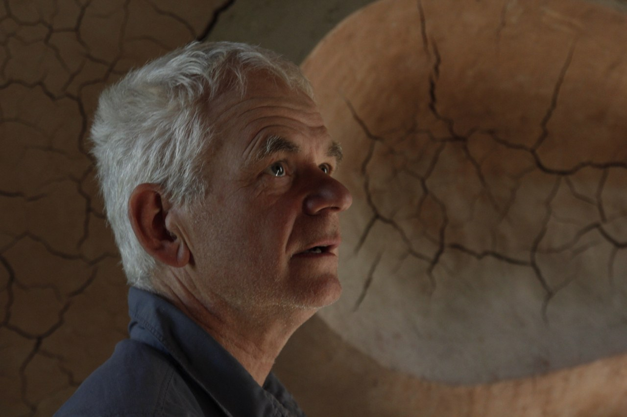 Leaning into the Wind - Andy Goldsworthy - Bild 1