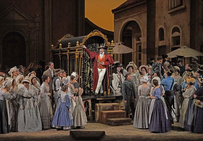 Met Opera 2017/18: L'Elisir D'Amore (Donizetti) - Bild 1