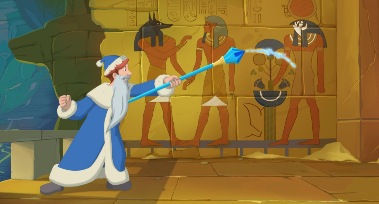 Tri bogatyrya i printsessa Egipta - Three Heroes and the Princess of Egypt - Bild 3