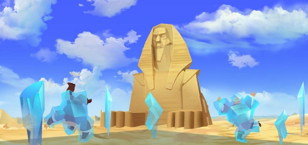 Tri bogatyrya i printsessa Egipta - Three Heroes and the Princess of Egypt - Bild 4
