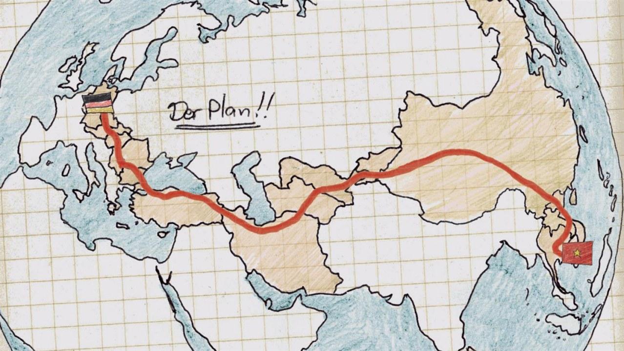 Verplant - Wie zwei Typen versuchen, mit dem Rad nach Vietnam zu fahren - Bild 4
