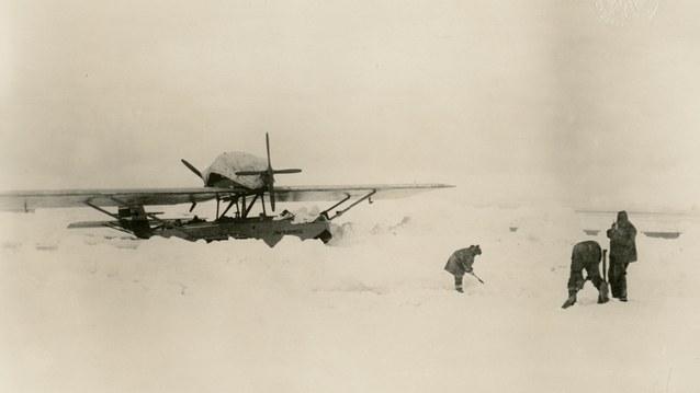 Amundsens Polarflug 1925 - Bild 1
