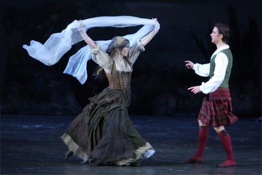 Moskau Bolshoi: La Sylphide - Bild 5