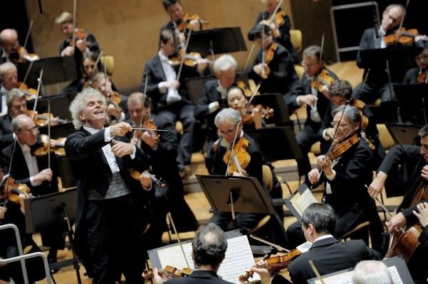 Berliner Philharmonie: Sir Simon Rattle und Magdalena Kožená   - Bild 1